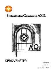 Nieuwste nummer - Protestantse Gemeente Axel
