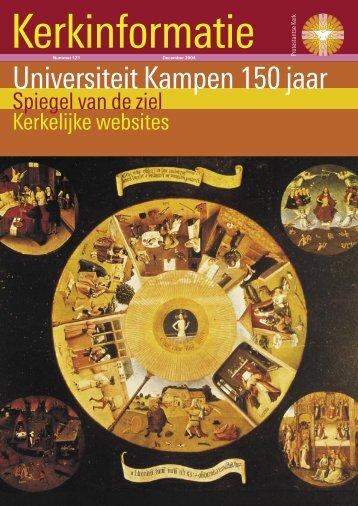 Universiteit Kampen 150 jaar - Kerk in Actie
