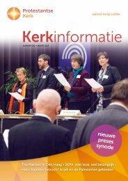 Kerkinformatie nr. 212, maart 2013 - Protestantse Kerk in Nederland