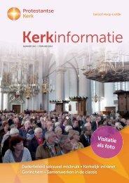 Kerkinformatie - Protestantse Kerk in Nederland