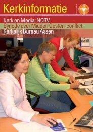 Kerkinformatie nr. 153, november 2007 - Protestantse Kerk in ...