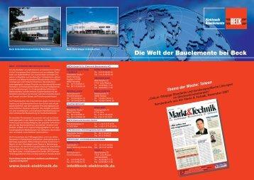 im pdf - BECK GmbH & Co. Elektronik Bauelemente KG