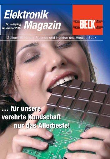 Elektronik Magazin - SPV Elektronik Vertriebsgesellschaft mbH