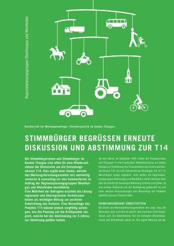 stimmbürger begrüssen erneute diskussion und abstimmung zur t14