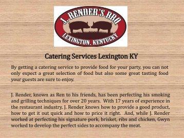 Catering Services Lexington KY