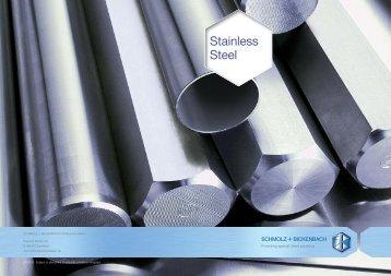 Special Steel - SCHMOLZ-BICKENBACH.LT