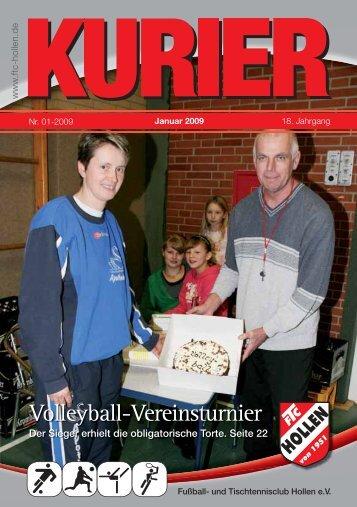 bis 22 Uhr - FTC Hollen eV Sportverein seit 1951