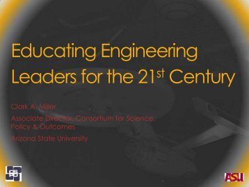 Educating Engineering Leaders for the 21st Century