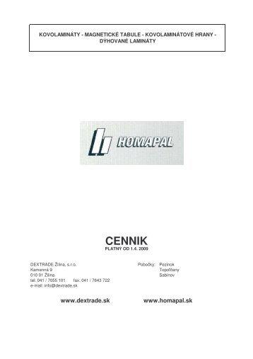HOMAPAL EUR-celkovo upravenyFinal3 - Dextrade