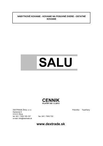SALU posuvné kovanie - Dextrade