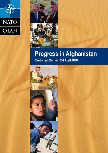 Progress in Afghanistan - Isaf - Nato
