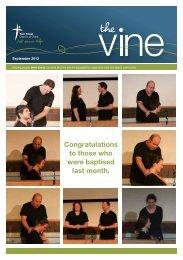The Vine September 2012 - York St Church of Christ