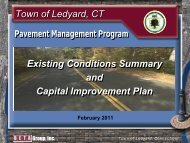 Pavement Management Presentation Document