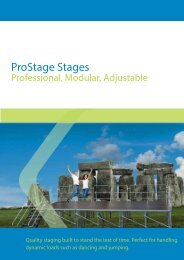 ProStage Stages