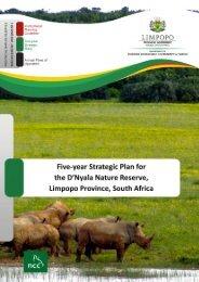 Guiding principles for reserve management - NCC Environmental ...