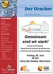 Der Uracher KW 24-2015