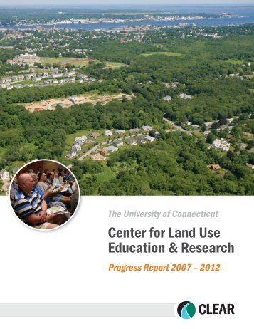 View the Progress Report - Center for Land Use Education and ...