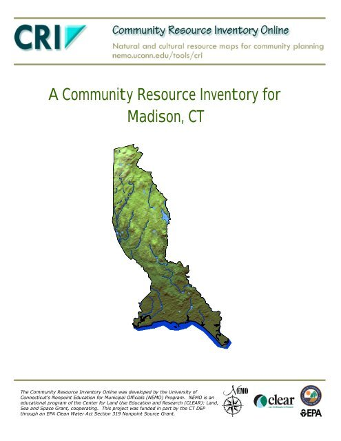 A Community Resource Inventory For Madison Ct Center For Land