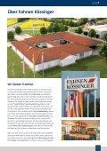 Fahnen Kössinger, Hauptkatalog IV - Seite 7