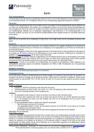 Financiële Infofiche - Enzu - Patronale Life