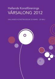 Vernissagekort som pdf - Hallands konstförening