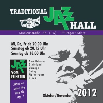 Download Programm - Jazz Hall