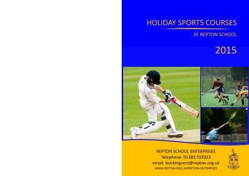 Sports-Course-Leaflet-2015