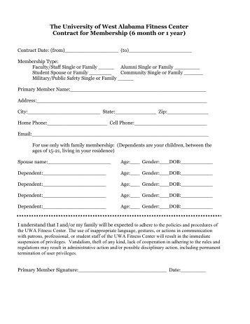 membership form - UAMS Friends and Alumni Online Community