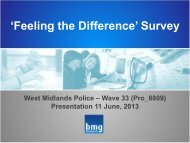 07 SPCB 11 June 13 Feeling the Difference BMG Research ...