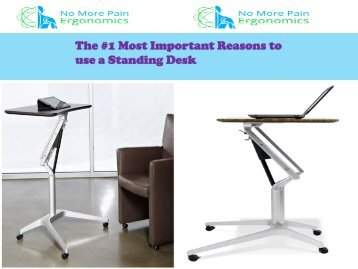 The #1 Most Important Reasons to use a Standing Desk