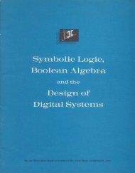 Symbolic Logic, Boolean Algebra and the Design of Digital Systems