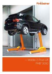 Mobile 2-Post-Lift FHB® 3000