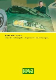 MANN Fuel Filters - Air Now Supply