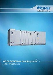 WCTA SERIES Air Handling Units WCTA SERIES Air Handling Units