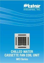 CHILLED WATER CASSETTE FAN COIL UNIT
