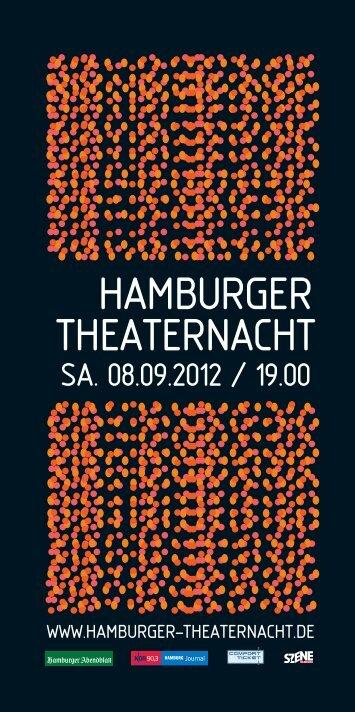 Wir sind Hamburg. - Hamburger Theaternacht