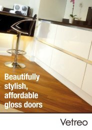 Beautifully stylish, affordable gloss doors - KBB Gateway