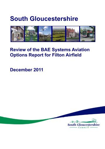 Review of the BAE Systems Aviation Options Report for Filton Airfield