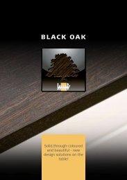 Black Oak brochure - Mitchells Kitchen Worktops Southampton