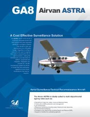 ISR Operations - West Coast Aircraft Sales