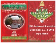 Christmas Shows - Spectra Productions