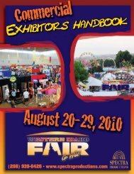 Exhibitor Handbook 2010.cdr - Spectra Productions