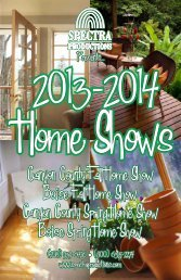 Home Shows - Spectra Productions