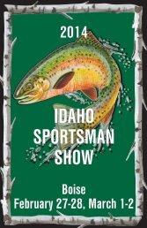 Idaho Sportsman Show Brochure - Spectra Productions