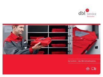 Gut sortiert – das DBL-Schranksystem.