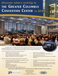 Battelle Grand Fact Sheet - The Greater Columbus Convention Center