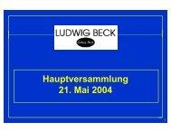 ludwig beck 2003
