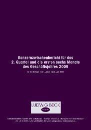 Konzern - Ludwig Beck