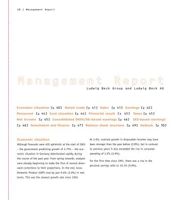 PDF - Part of the Annual Report - Ludwig Beck