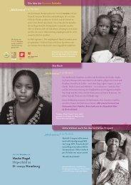 """Maliennes"" 20 Portraits - Dogon Schulen eV"